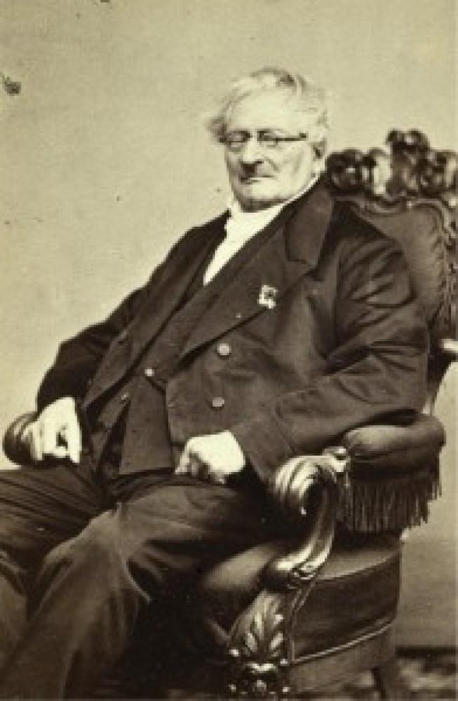 Johannes Enschedé in 1864