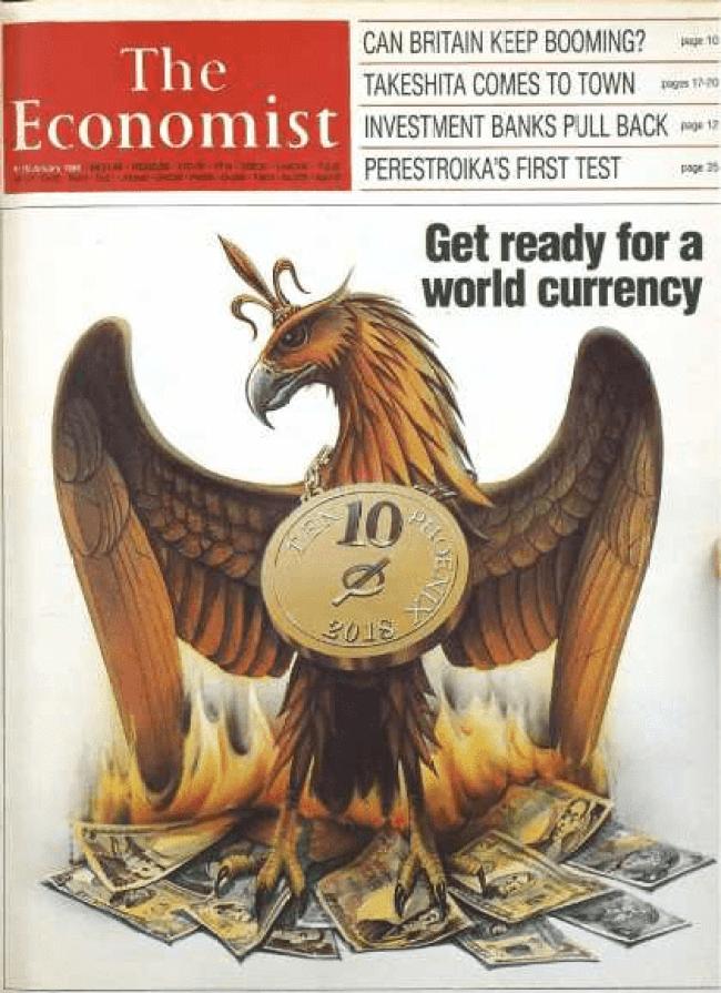 The Economist cover 1988