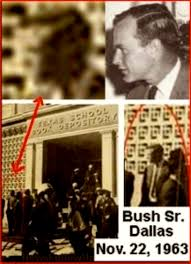 Bush in Dallas 2 (foto Before It's News)