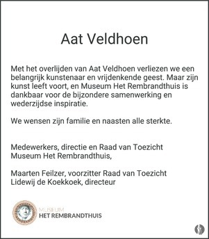 Overlijdensbericht Aat Veldhoen 2 (foto Mensenlinq.nl)