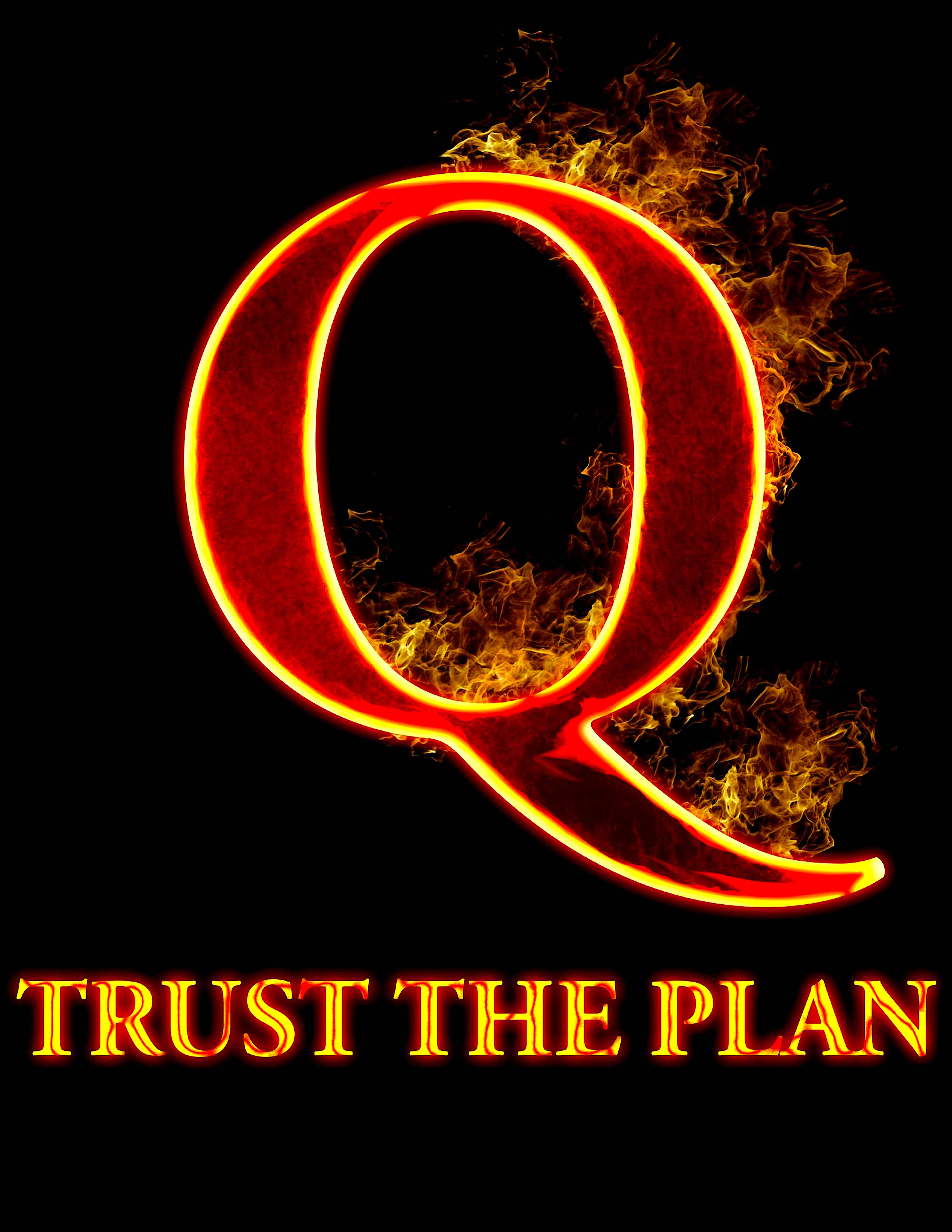 Q Trust the plan (foto Q Tee Shirts)