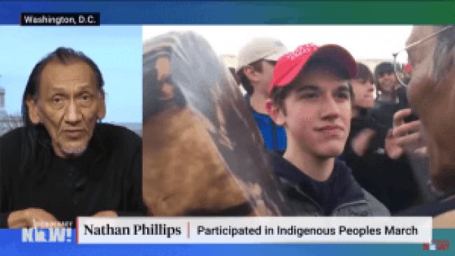 Nathan Philips kan niet ophouden met liegen
