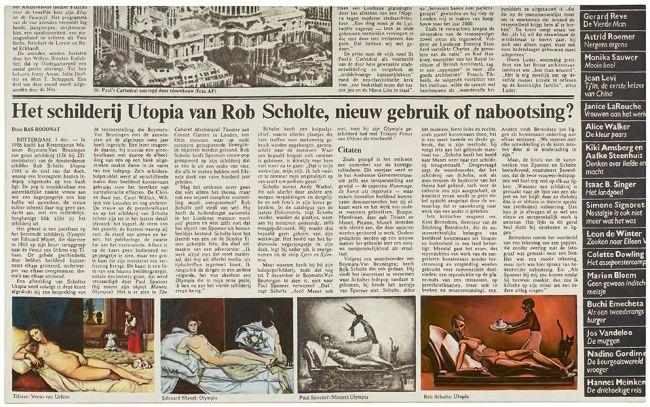 Rob Scholte - Nostalgia