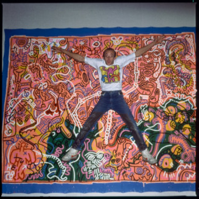Keith Haring (foto Patricia Steur:Keith Haring Foundation)