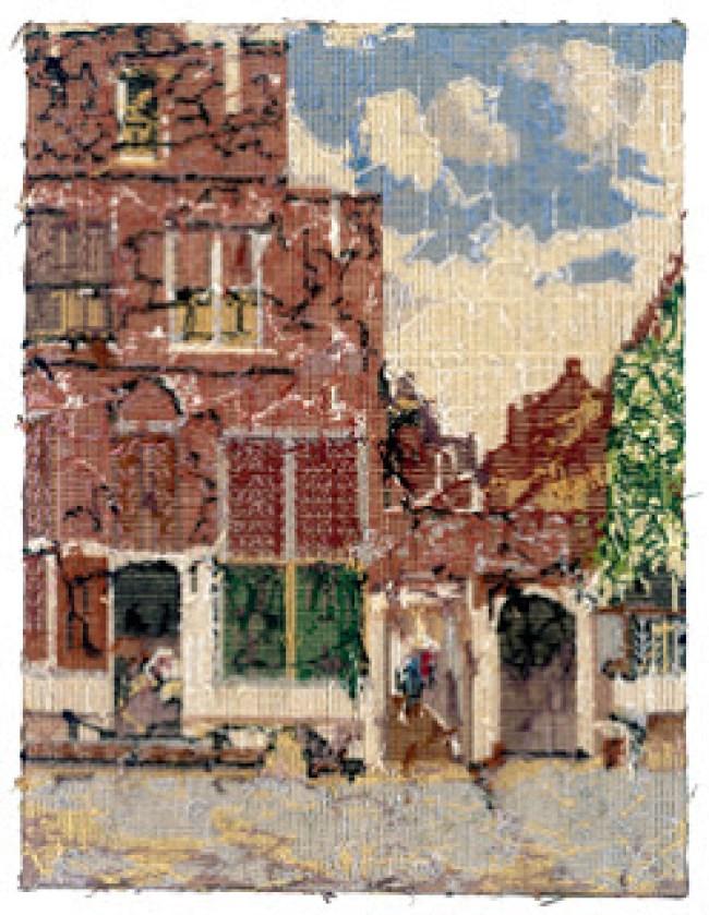 Rob Scholte - Little Delft Street (foto Kunstverein Düsseldorf)