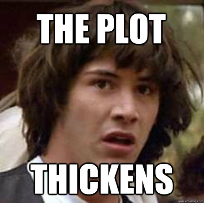 The plot thickens (foto Jim Stone)