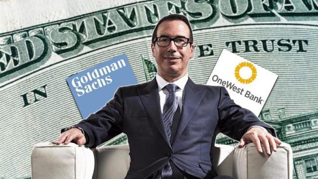 U.S. Treasury Secretary Steven Mnuchin HIGH TREASON (foto Concise Politics)