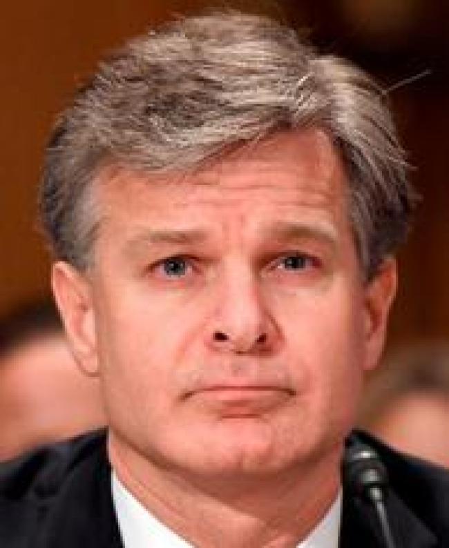 FBI Director Christopher Wray (foto Tom Heneghan)