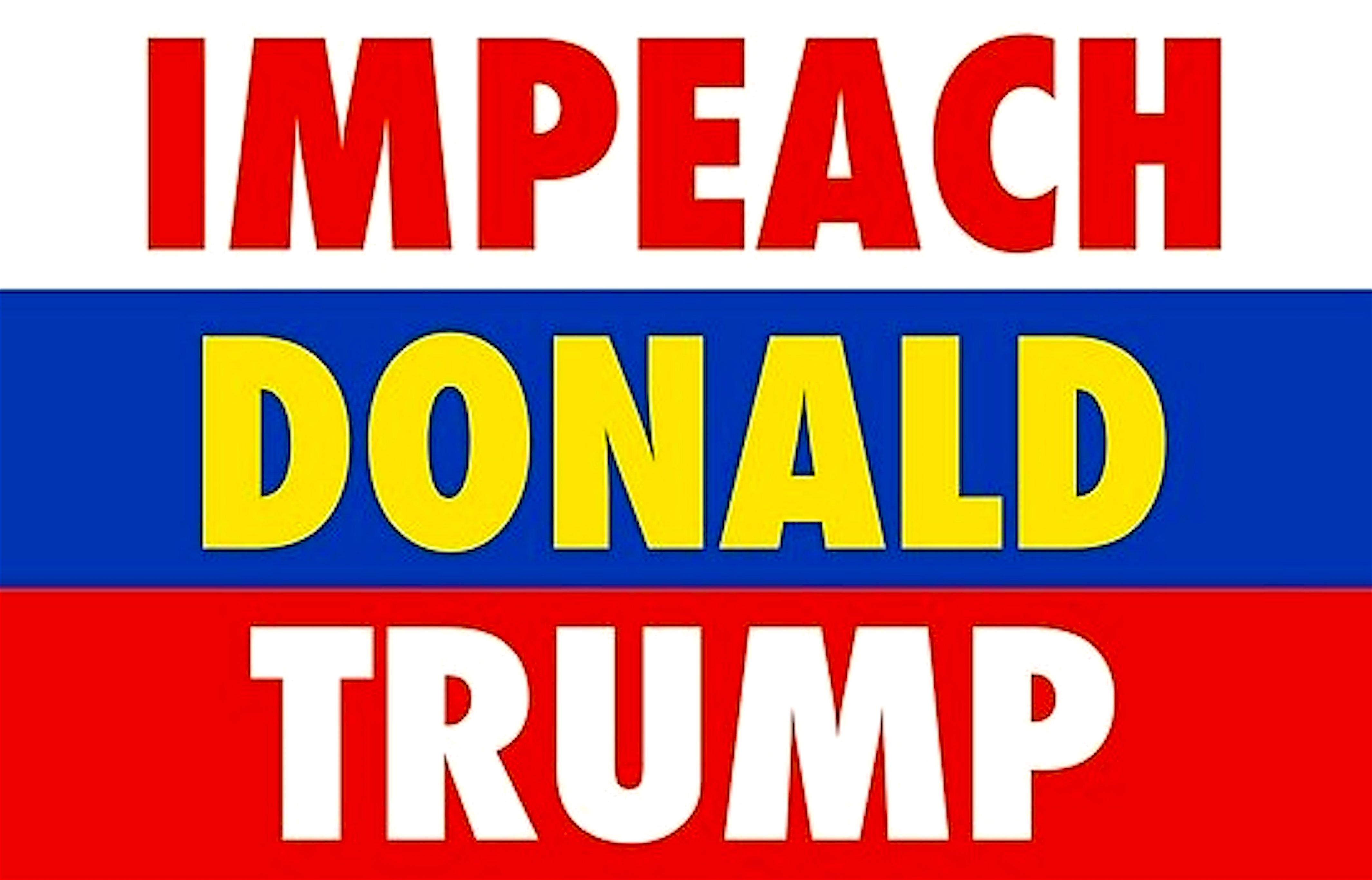 Impeach Donald Trump (foto PicsWe)