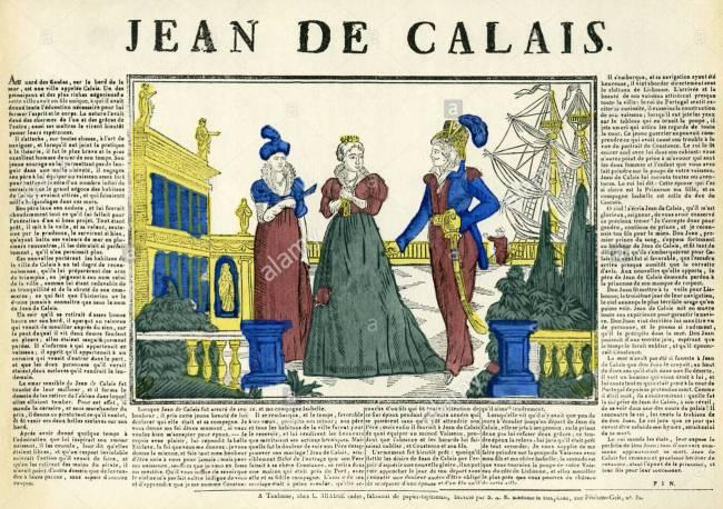 Jean de Calais (foto Alamy)