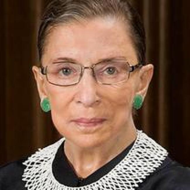 Ruth Bader Ginsburg, American heroine, U.S. Supreme Court Justice (foto Tom Heneghan)
