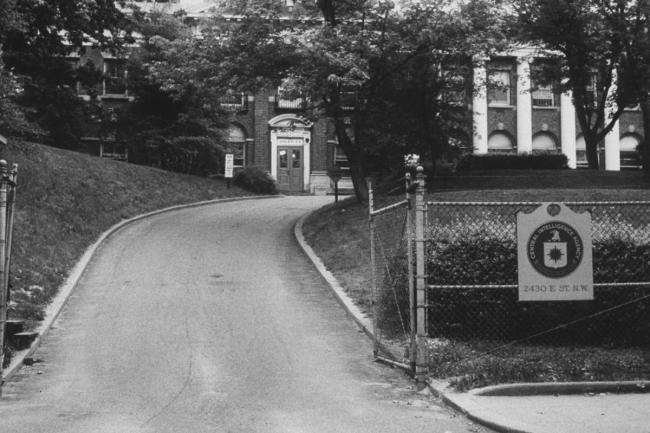 A view of the old CIA building. (foto Ed Clark|The LIFE Picture Collection)