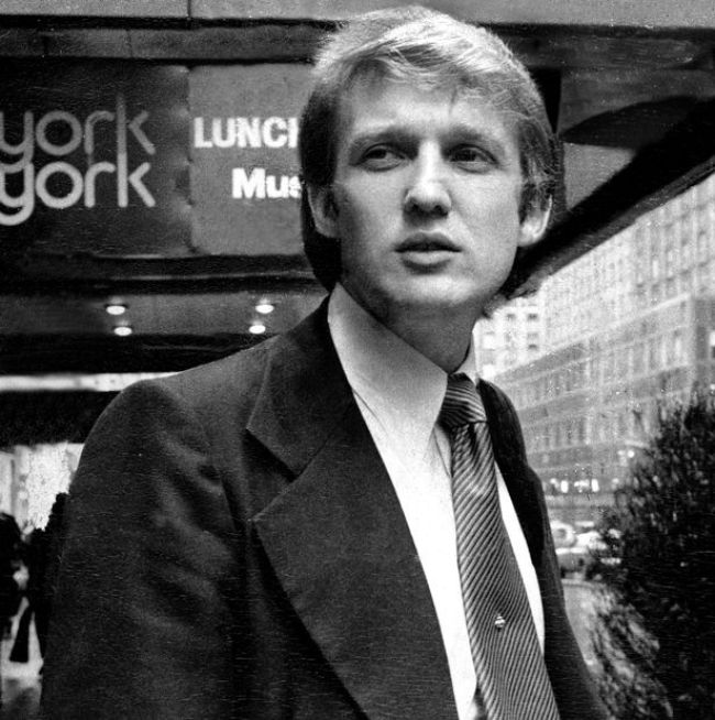 Donald Trump at Studio 54