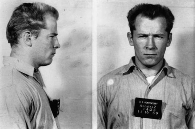 "Gangster James ""Whitey"" Bulger's 1959 mugshot (foto Donaldson Collection Michael Ochs Archives)"