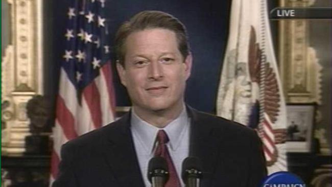 Al Gore Concession Speech (foto C-Span)