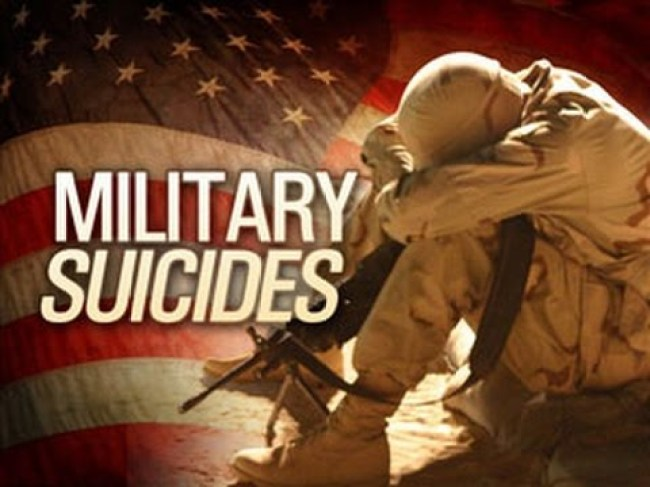 Military Suicides (foto What Does It Mean)