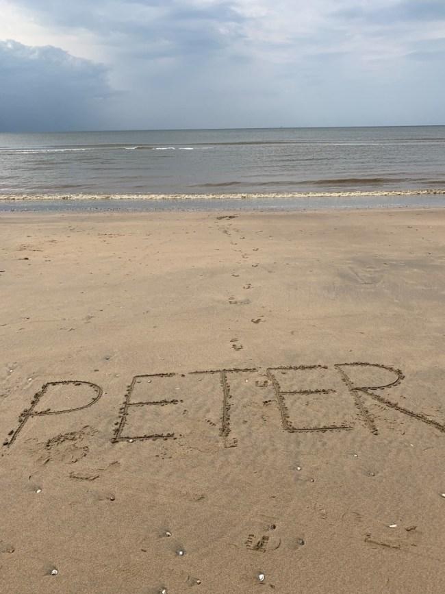 Peter (foto Jaap Holzapffel)