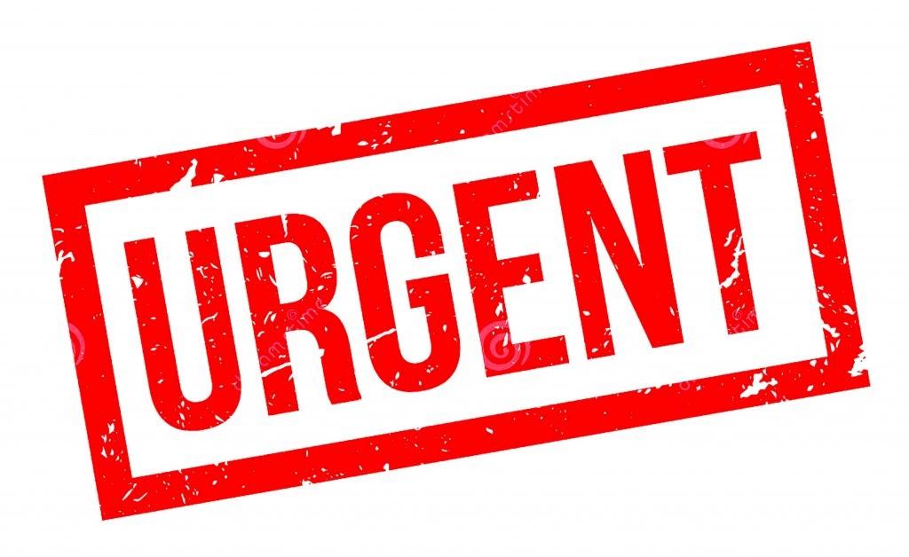 Urgent Rubber Stamp (dreamstime.com)