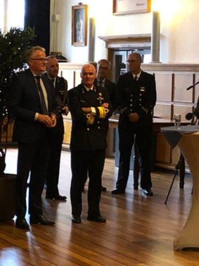 Afscheid burgemeester Koen Schuiling (foto Twitter)