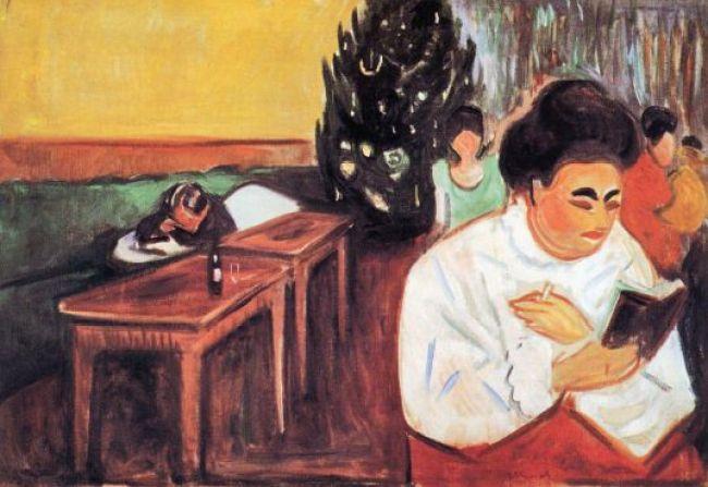 Edvard Munch – Kerstmis in het bordeel