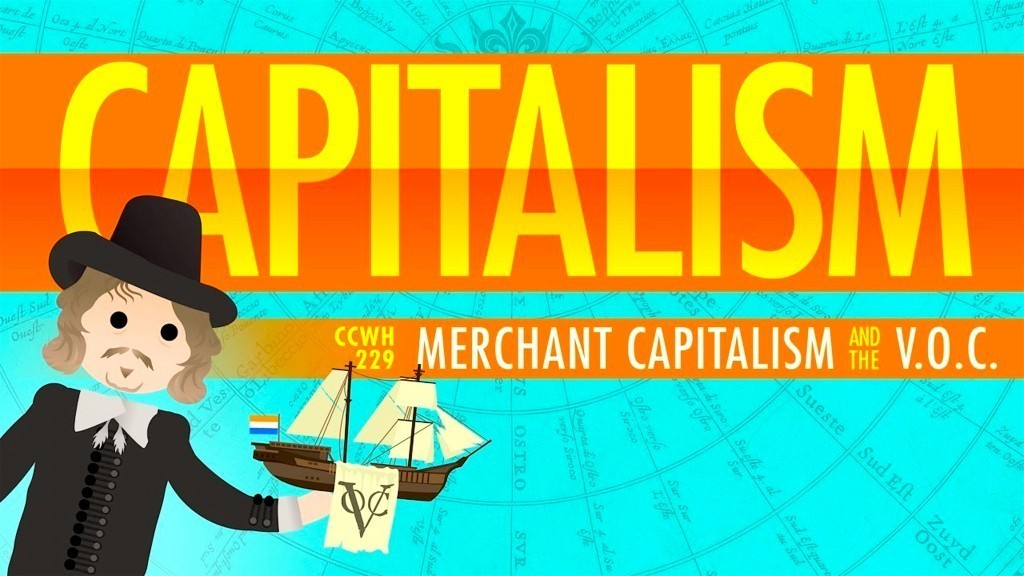 Capitalism and the Dutch East India Company: Crash Course World History (foto YouTube)