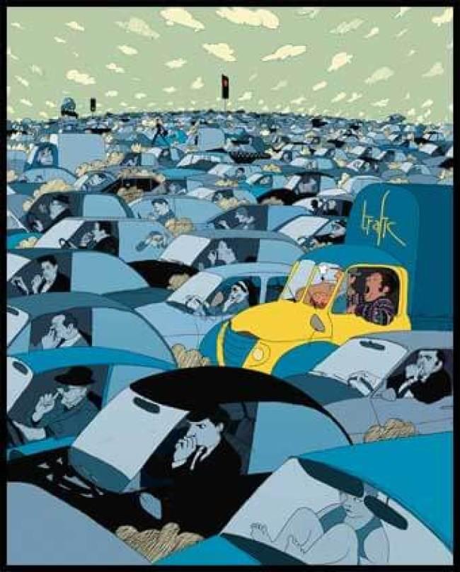 Jacques Tati - Trafic (foto Canal BD)