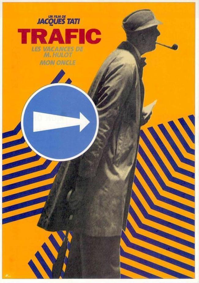 Jacques Tati - Trafic (foto Etsy)