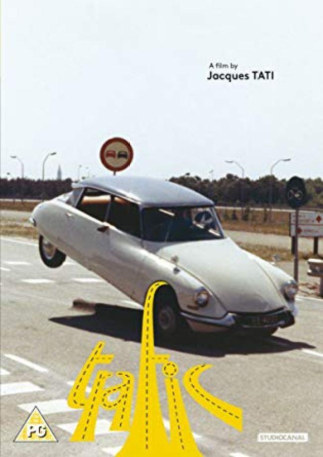 Jacques Tati - Trafic (foto amazon.com.uk)