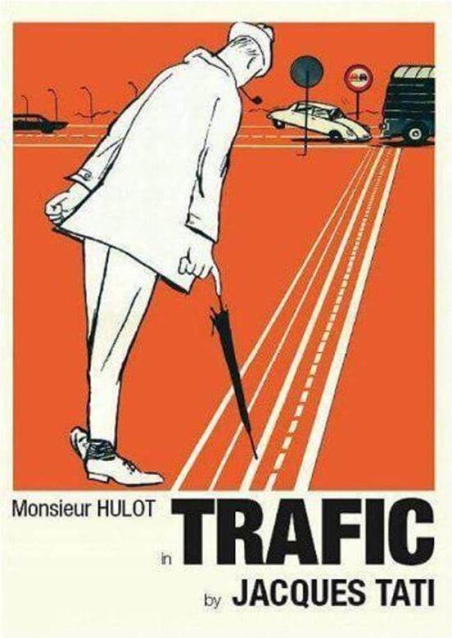 Jacques Tati - Trafic (foto bol.com)