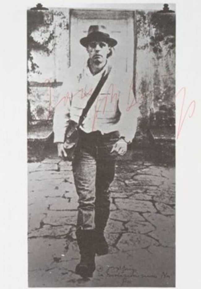 Joseph Beuys - The Revolution is Us, 1972