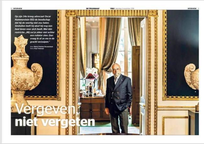 Marie-Thérèse Roosendaal - Vergeven, niet vergeten, De Telegraaf, 2 november 2019 (2)