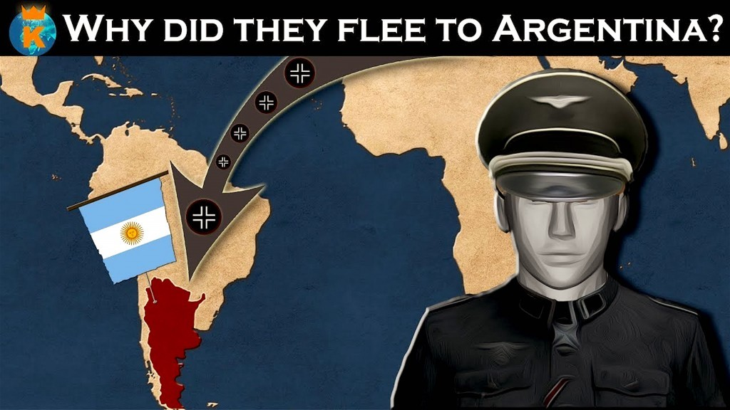 Why Did So Many German Officers Flee to Argentina after WWII? (foto YouTube)
