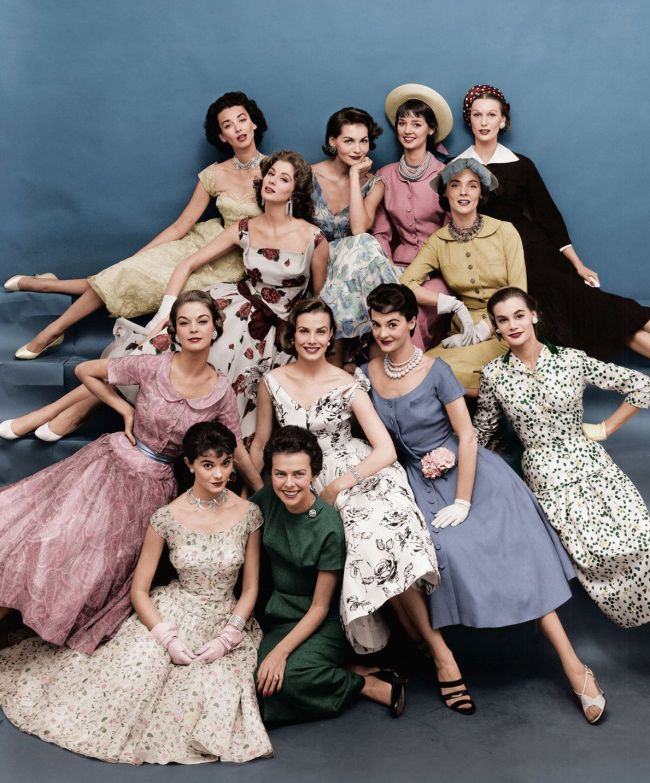 Eileen Ford Modeling Agency 1955 (foto Pinterest)