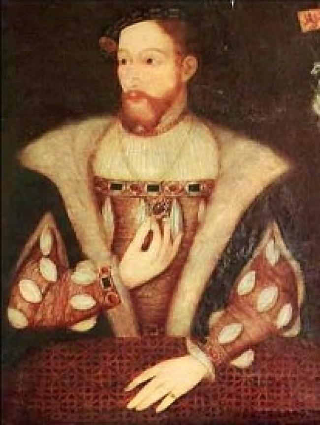 James V of Scotland 1512-1542