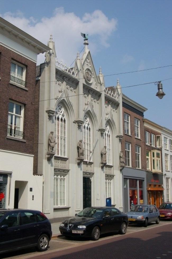 Het Zwanenbroedershuis in de Hinthamerstraat te 's Hertogenbosch (foto groetenuitdenbosch.com)