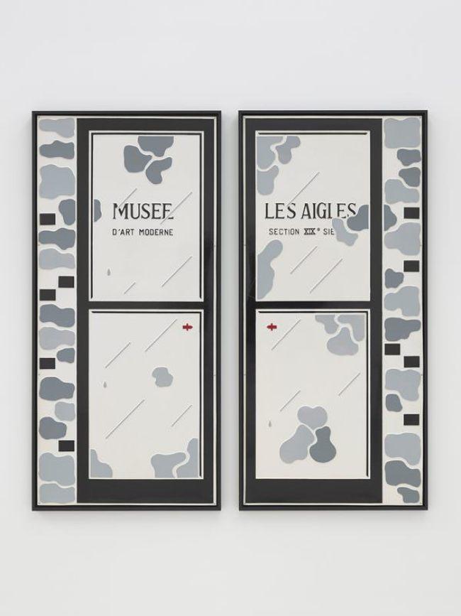 Marcel Broodthaers - Musée D'art Moderne, Les Aigles, Section XIXe Siecle