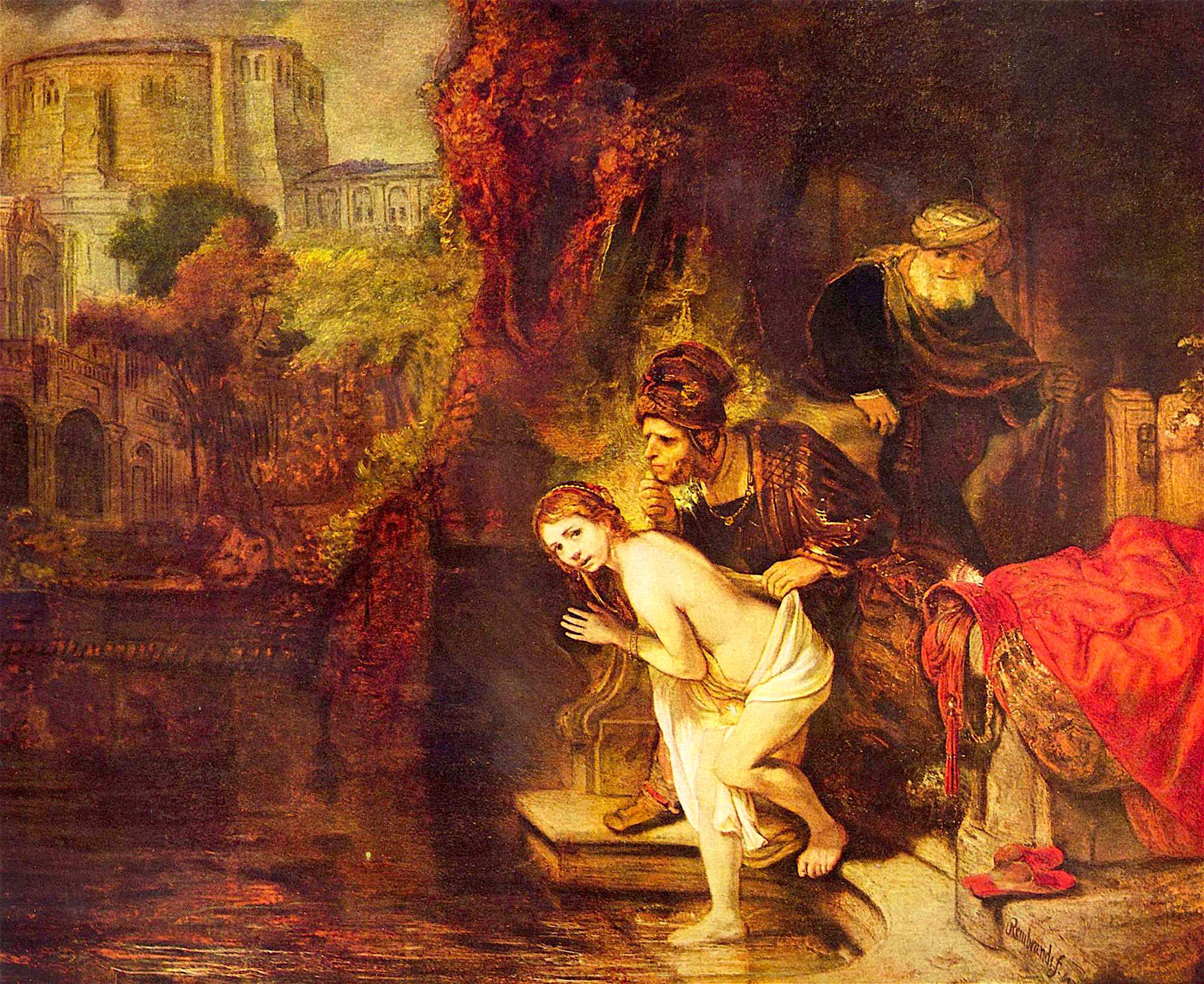 Rembrandt Harmensz. van Rijn. – Suzanna en de ouderlingen
