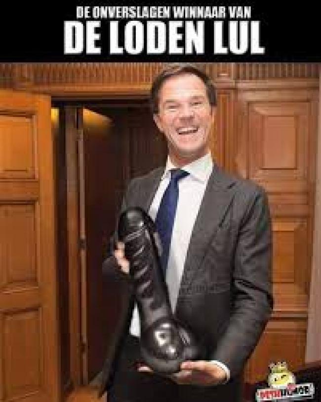 De onverslagen winnaar van DE LODEN LUL (foto Facebook)