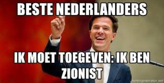 Ik ben Zionist! (foto Meme Generator)