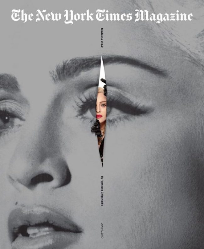 Madonna age 60 on cover New York Magazine (foto NY Magazine)