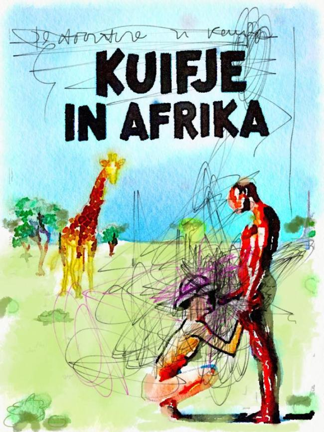 Peter Klashorst - Kuifje in Afrika