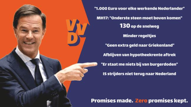 Promises made., ZERO promises kept (foto GeenStijl)