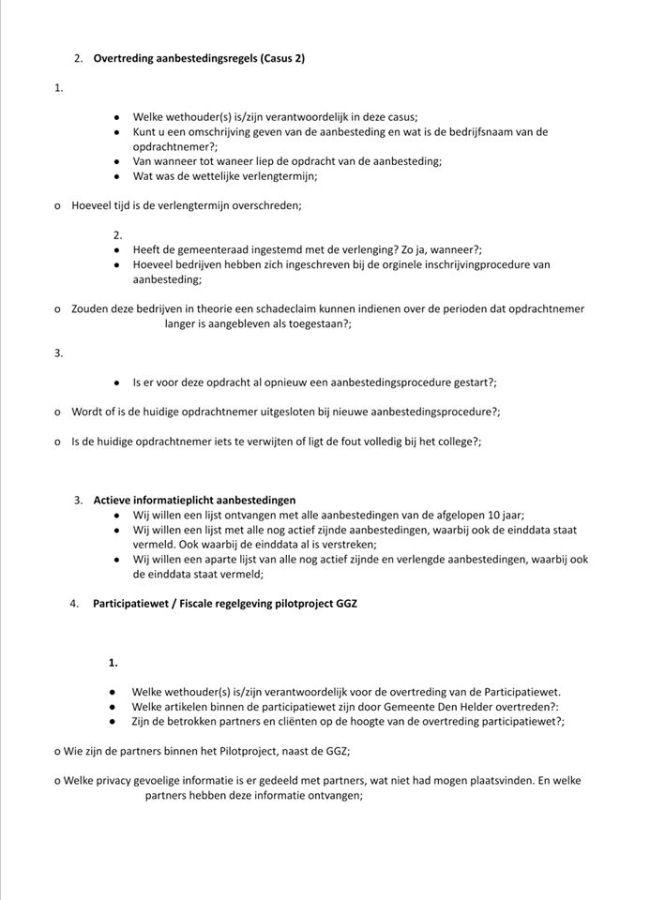 Raadsvragen Behoorlijk Bestuur over de jaarrekening 2019 (2)