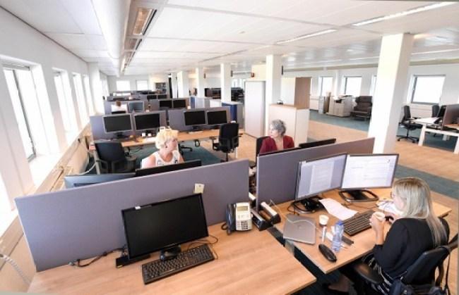 Vanwege de Corona Virus crisis is de gemeentelijke dienstverlening aangepast (foto Gemeente Den Helder)