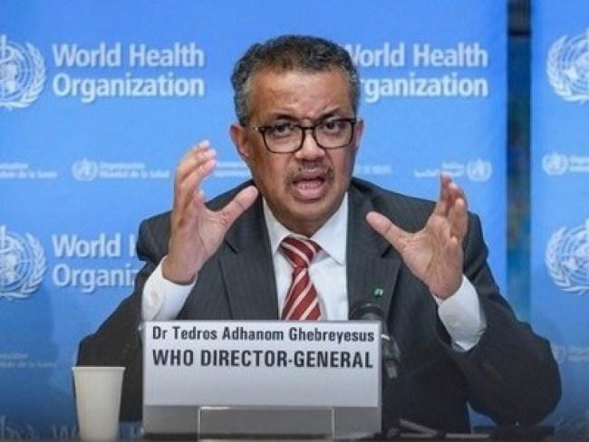 WHO Director, Dr. Tedros Adhanom Ghebreyesus (foto voltaire.net),