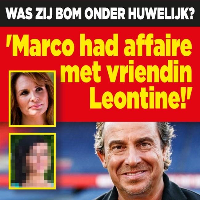 Was zij de bom onder huwelijk? 'Marco had affaire met vriendin Leontine!' (foto DenD)