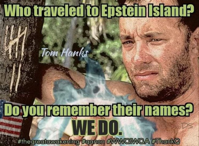 Who traveled to Epstein Island? (foto Before It's News)