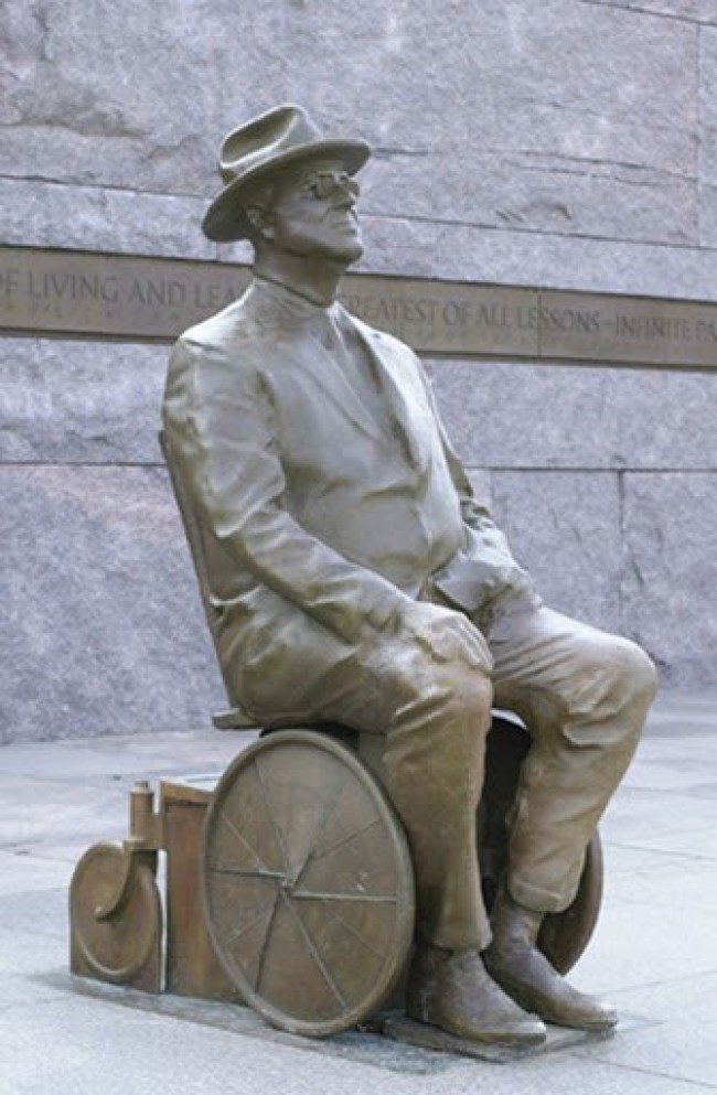 Franklin Delano Roosevelt - Memorial (foto Robert Graham)