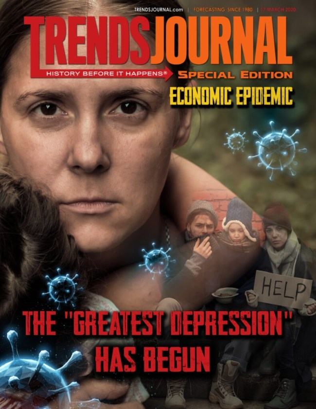 Trends Journal, Special Edition ECONOMIC EPIDEMIC, 17 march 2020