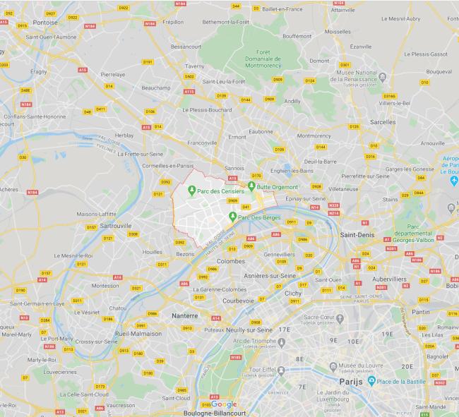 Argenteuil (foto Google Maps)